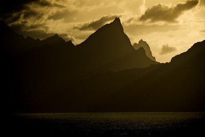 Leaving Moorea
