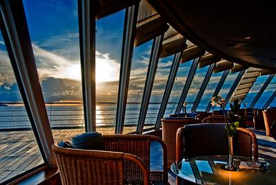 The Sunset Bar, Crystal Serenity.