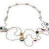 #B5B Winding Road Necklace (Reversable). $465. Polymer and stainless steel. Call Smith Galleries at 1.800.272.3870 to order.