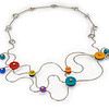 #B5 Winding Road Necklace. $465. Polymer and stainless steel. Call Smith Galleries at 1.800.272.3870 to order.