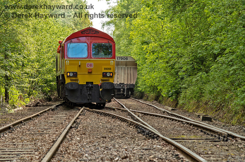 59203 running round in the loop at Ardingly.  Adrian Backshall retains all rights to this image.