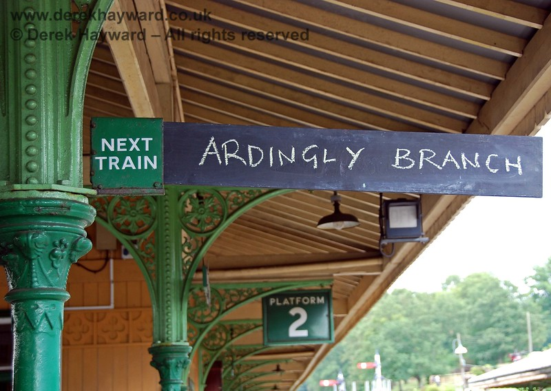Next stop Ardingly then?  15.08.2009