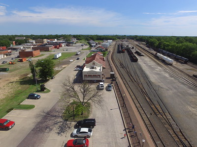 Ardmore train station Drone shots