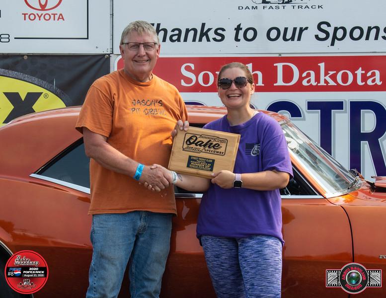 Ken Giessinger, Milbank, SD ~ R/U ~ Rees Communications Street Trophy Pepsi Pts #8
