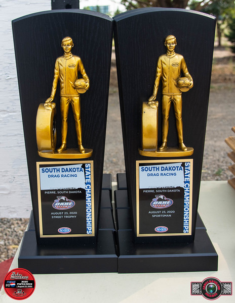 2020 South Dakota State Drag Racing Championship Trophies