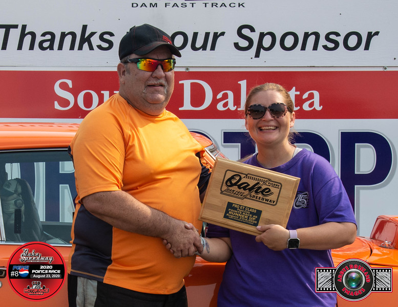 Randy Compson, Valley City, ND ~ R/U ~ Watty's Garage Pro ET Pepsi Pts #8
