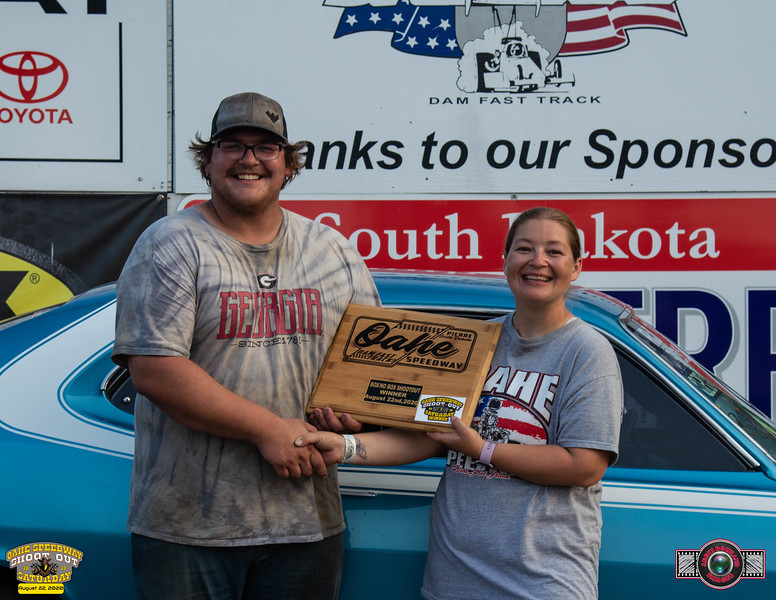 Dual Keck, Dickinson, ND ~ Winner ~ Oahe Speedway Box/No Box Shootout