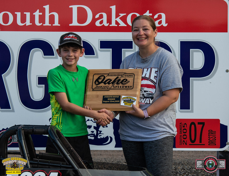 Noah Horsley, Pierre, SD ~ Winner ~ Oahe Speedway Junior Shootout