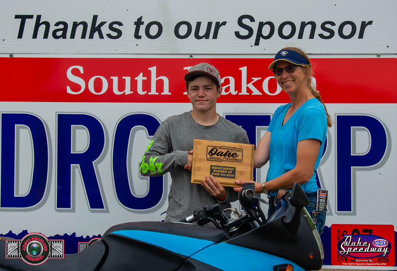 Cutter Hammersley, Pierre, SD - R/U - 2020 Oahe Speedway Bike/Sled Shootout