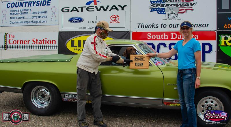 Ken Kimball, Rapid City, SD - R/U - 2020 Oahe Speedway Trophy Shootout