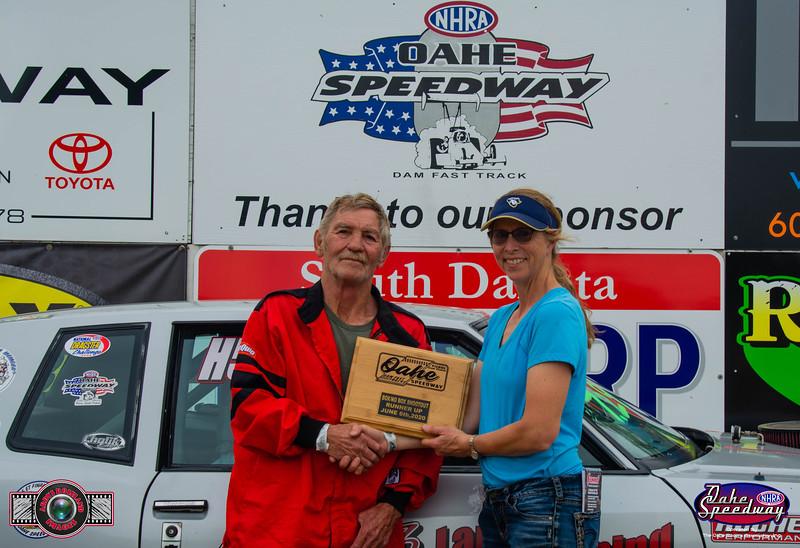 Randy Hirsch, Pierre, SD - R/U - 2020 Oahe Speedway Box/No Box Shootout