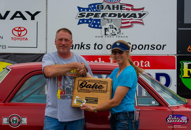 Doug Hooth, Huron, SD  - Winner - 2020 Oahe Speedway Box/No Box Shootout