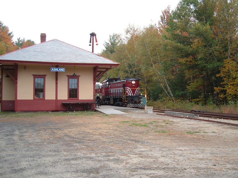 Passing Ashland Station