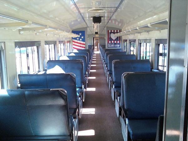 Inside a Hobo Coach car.