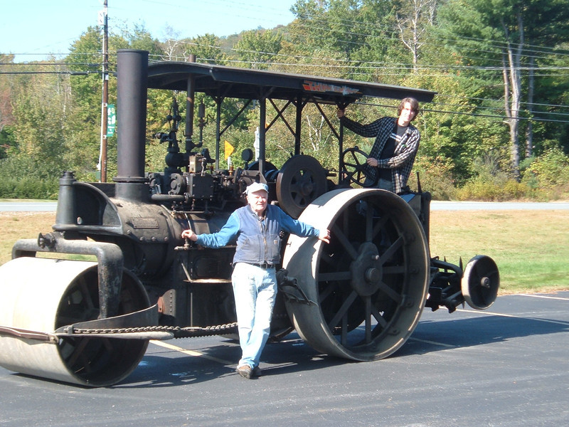 Steam Roller   Railroad days 2012