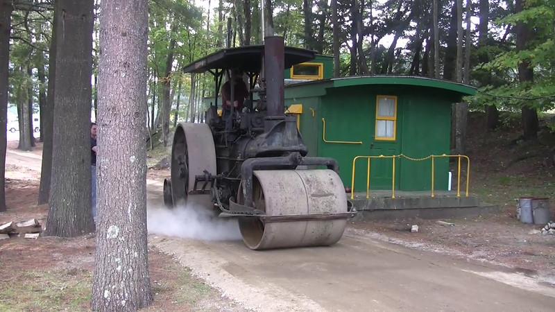 Steam Roller, Railroad Days 2008