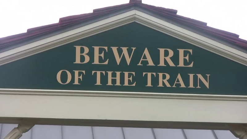 Beware of the Train, Railroad Days 2008