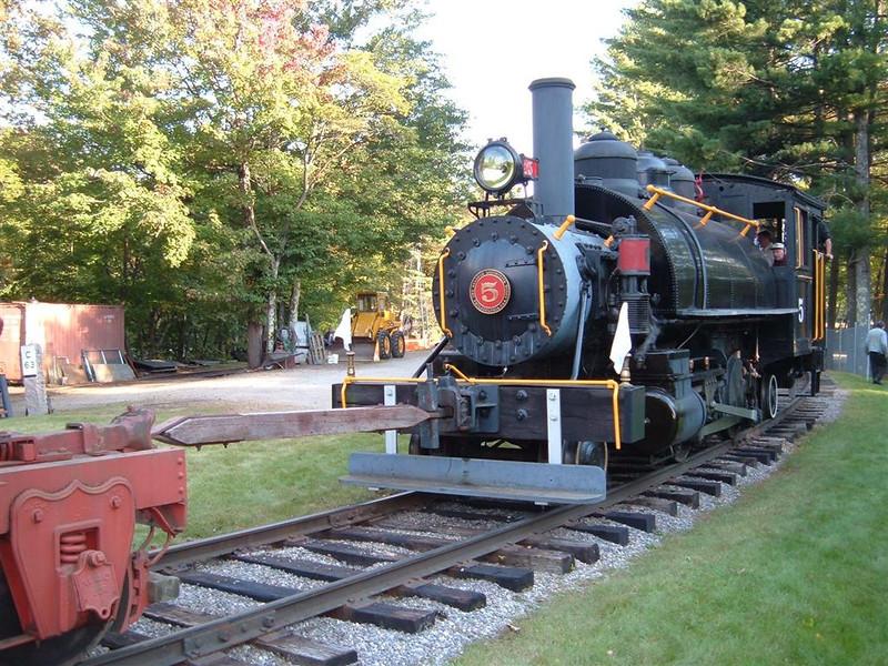 Number 5 and Log Wagon