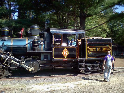 Crew Rests On No.6  RR Days 2012