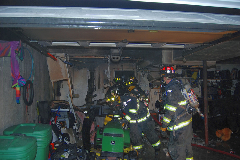 fire in basement knocked down starting to over haul