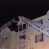 Methuen & Salem Ladder set to the roof