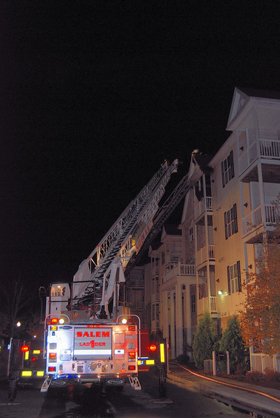 Salem Ladder-1 to the roof