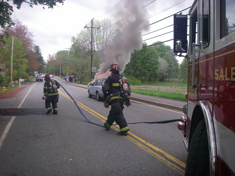 Salem engine 1 laying in