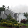 First due smoke showing house hit by lightning