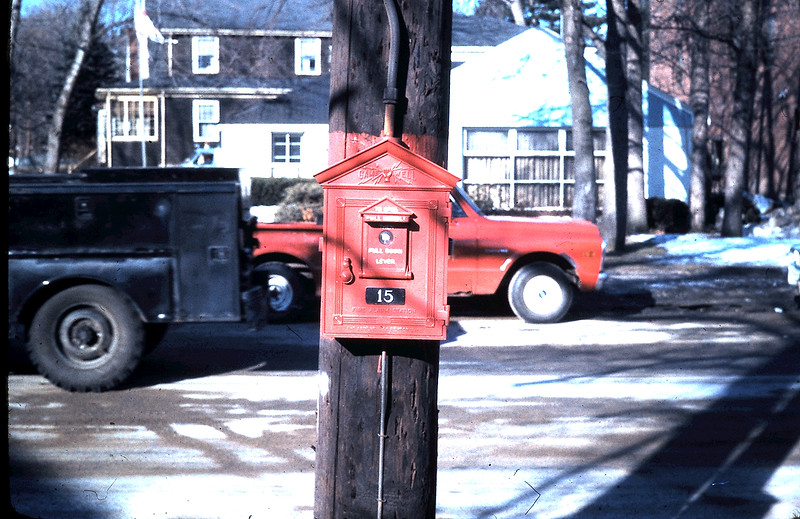 The street box Woburn Fire got MANY time for the lumber co buildings.