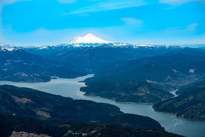 Trinity Lake with Mt. Shasta, 2017-05-07