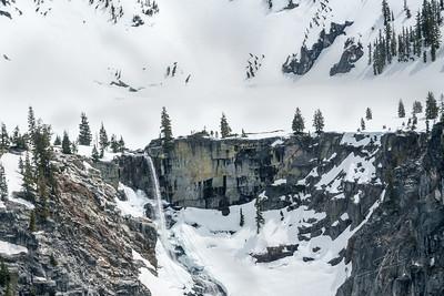 Grizzly Lake Falls