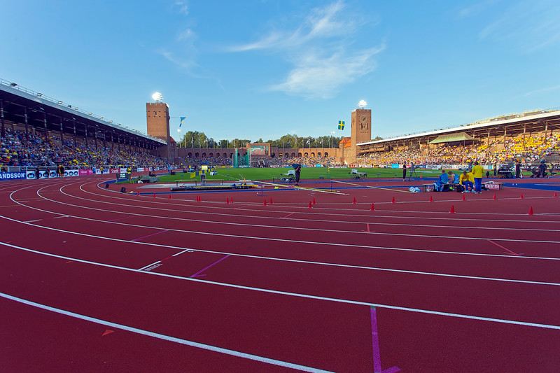 Stockholm stadion - built to the Olympic games 1912