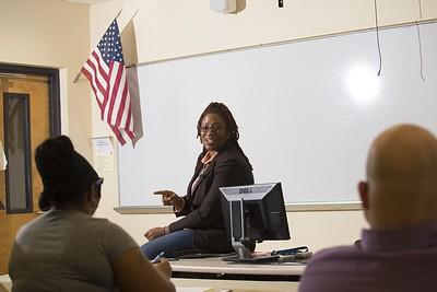 English Class - Sheree Greer
