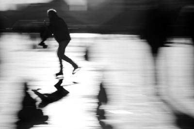 Skating on the Lakes, Copenhagen 2021