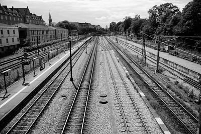 Set fra Østerport Station