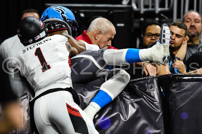 Cleveland Gladiators at the Philadelphia Soul