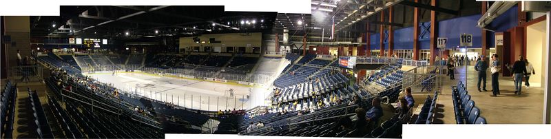 Ford Arena - Beaumont TX - ECHL Wildcatters