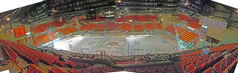 WesBanco Arena - Wheeling WV - ECHL Nailers