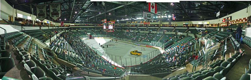 Sovereign Bank Arena - Trenton NJ - ECHL Titans