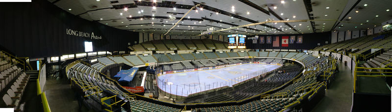 Long Beach Arena - ECHL Ice Dogs - Long Beach CA