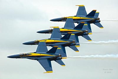 Blue Angels at Jax NAS Nov. 2011