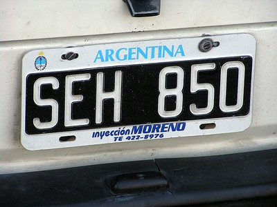Argentina would be my 24th lifetime trackchasing country.