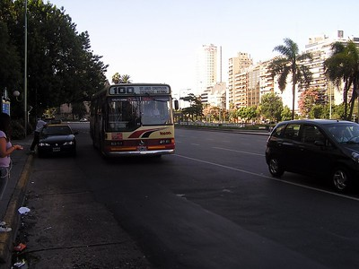 A public bus would take us to the track to begin with.