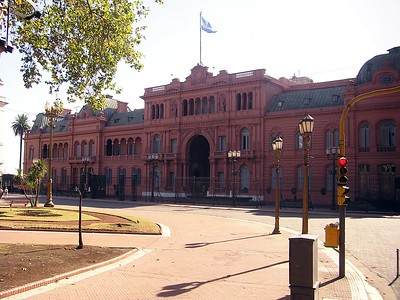 This is the Argentine Presidential Palace.