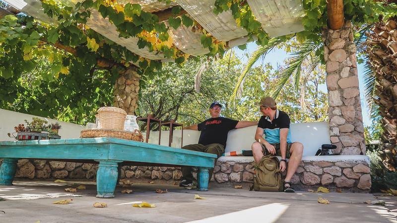 Poolside at Finca Adalgisa