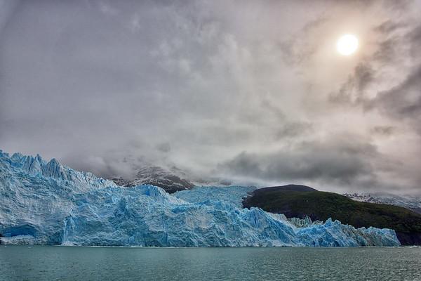Upsala and Spegazzini glaciers
