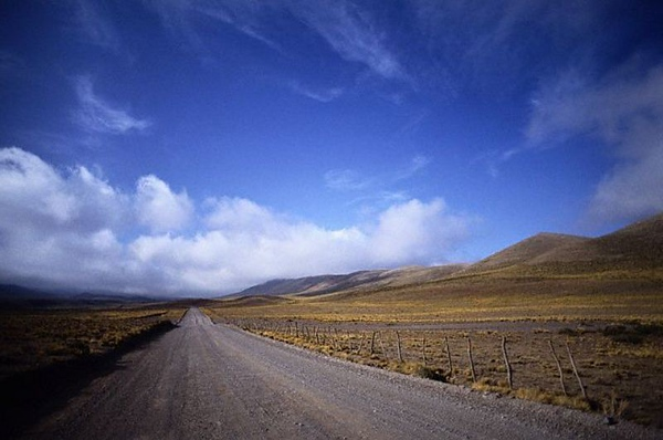 Road to Cachi at 3000m elevation. ca. 1990s Salta Province, Argentina