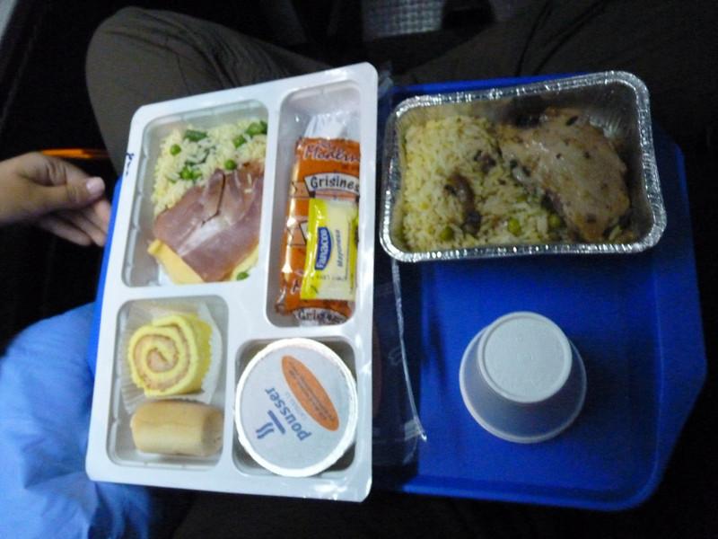 Bus food!
