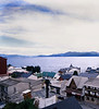 Roof Tops, View from Hotel XXX, Bariloche, Argentina (Pentax 645)