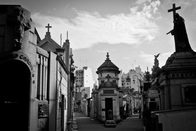 Recoleta Cemetery... seriously, where the hell is Evita?